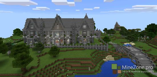 Карта Victorian Manor для Minecraft PE 0.11.1, 0.11.0