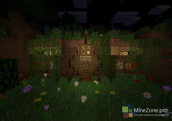 Карта Hobbit-hole для Minecraft PE 0.11.1, 0.11.0