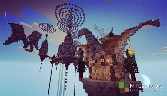 Карта The Mystic Dragon Kingdom для Minecraft PE 0.11.1, 0.11.0