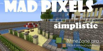 [x16] Mad Pixels [Cartoony] Resource Pack 1.8.7/1.8/1.7.10