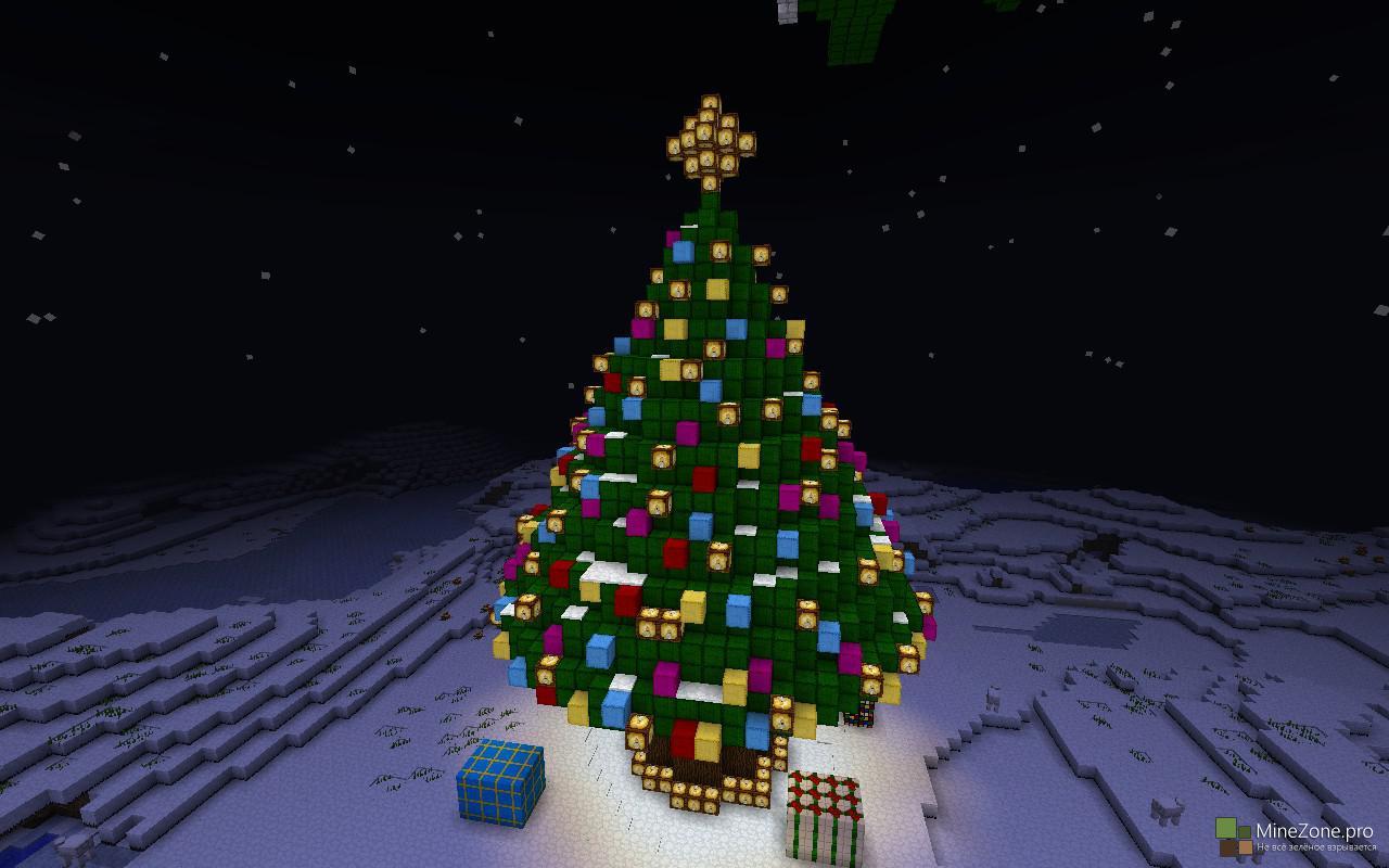 Новогодняя Карта в Minecraft - Часть #1