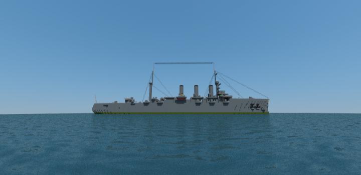 Imperial Russian Cruiser Aurora