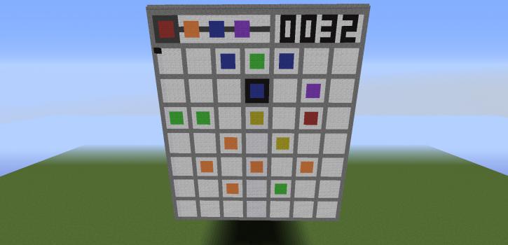 """Minecraft - логическая игра """"3x3 - Game"""""""