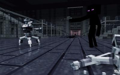 MineWars - Starwars in Minecraft 0D Animation - part 0