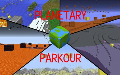 [1.9] Planetary Parkour Map