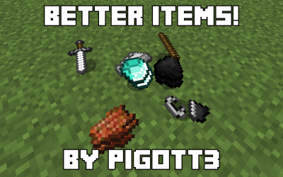 [1.9] Better Items Model Pack
