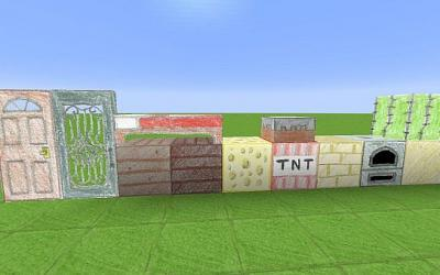 [1.9+] [128x] Pencil Pack Hand Drawn Resource Pack