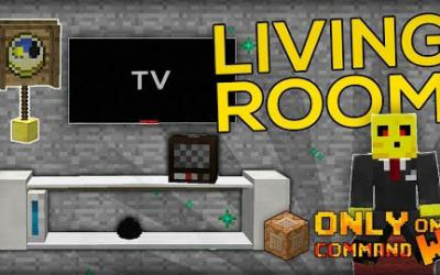 [1.9/1.9.2] Living Room Furnitures Command Block