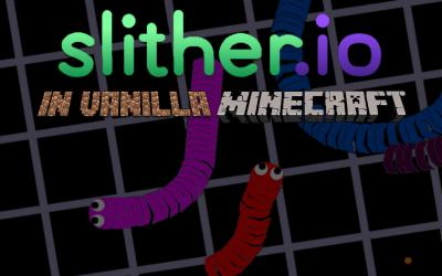 [1.9] Slither.io in Vanilla Minecraft