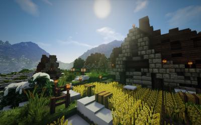 A Nordic Mountain Village!