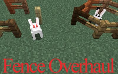 [1.8+] Fence Overhaul