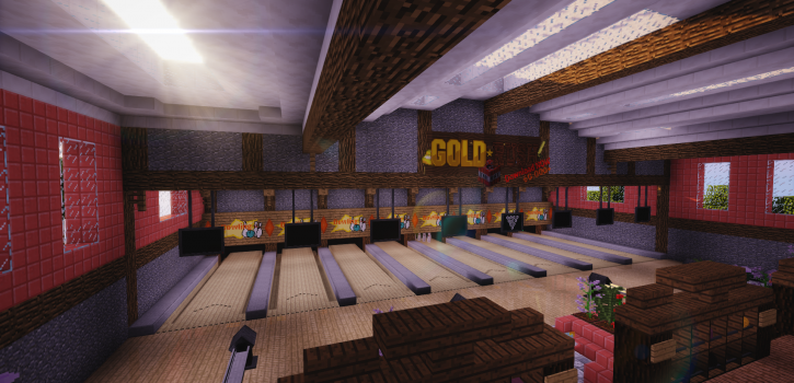 [1.10+] Bowling Minigame Map