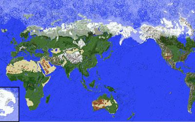Minecraft Complete Earth Map