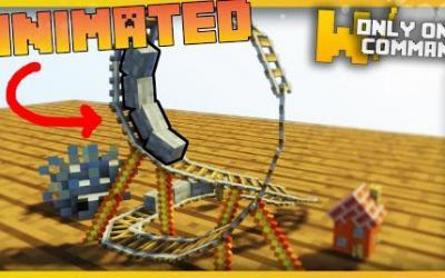 [1.9.4/1.10.2] Micro Rollercoaster Command Block
