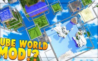 [1.11.2/1.10.X] Cube World Mod