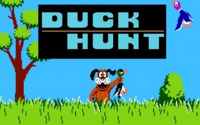 Duck Hunt Shooting Gallery
