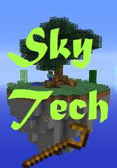 [1.7.10] SkyTech by Fixer33[client/server][65 модов]