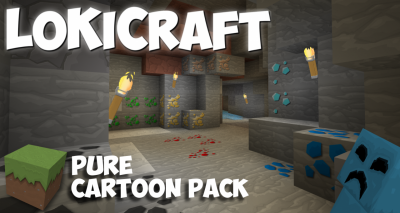 [1.11.X] [256x/128x] LoKiCraft Pure Cartoon Pack