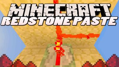 Redstone Paste Mod