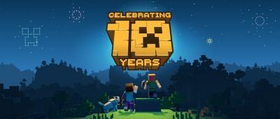 Minecraft 10 лет!